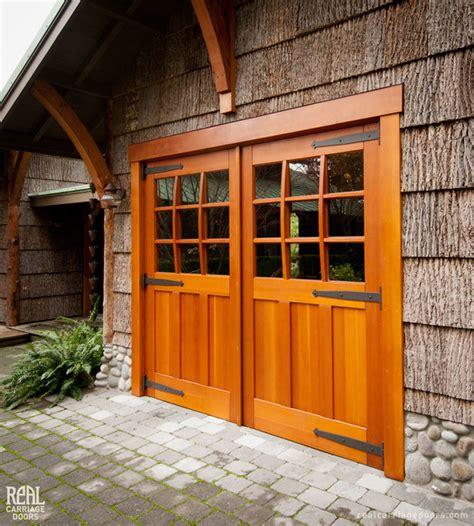 Real Carriage Garage Doors Carriage Garage Doors Traditional Garage Doors And Openers Other By Real Carriage Door