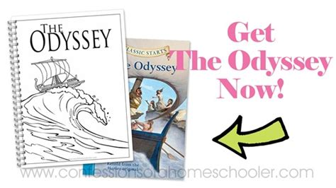 the odyssey book report the odyssey literature unit study confessions of a