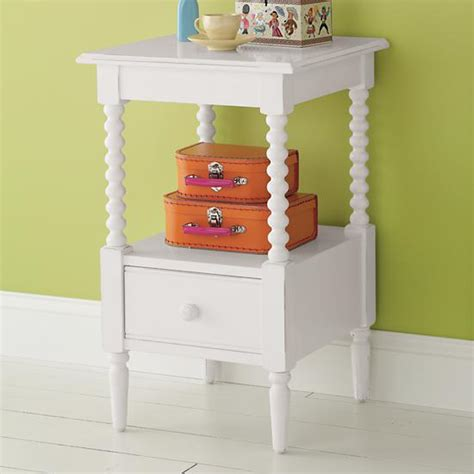 jenny lind small nightstand white the land of nod