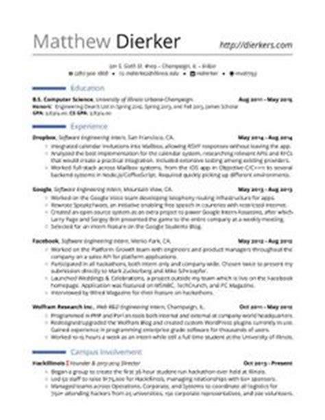 resume for software engineer software engineer resume