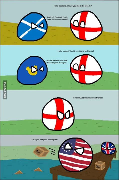 Countryball Meme - want more country balls language friends and england