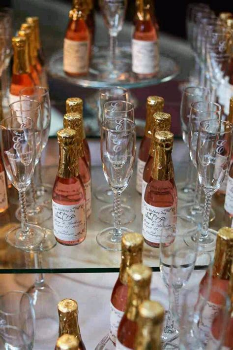 Best 25  Champagne wedding favors ideas on Pinterest