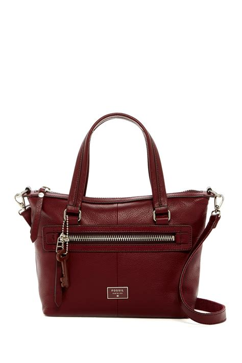 Fossil Satchel 5 fossil dawson leather satchel nordstrom rack