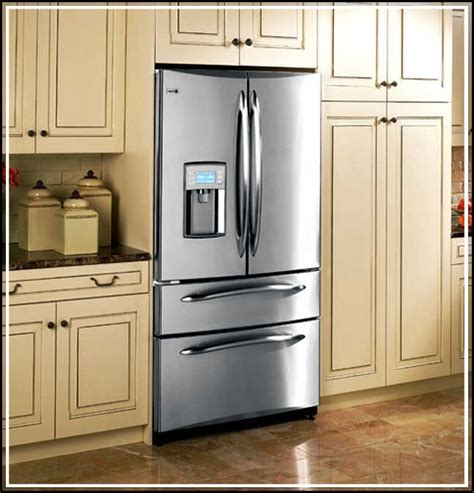cabinet depth refrigerator 36 wide counter depth refrigerator vs standard depth refrigerator