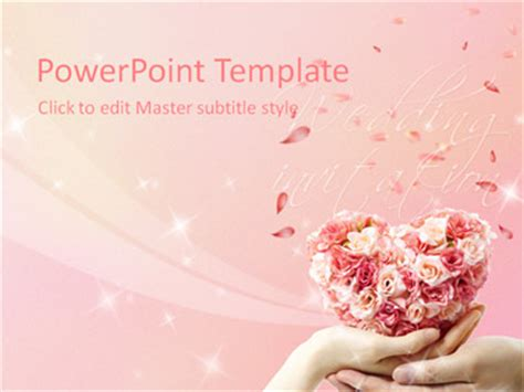 powerpoint wedding templates free wedding powerpoint templates 171 powerpoint database