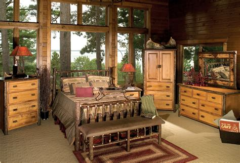 Log Furniture Bedroom Sets Cabin Bedroom Furniture Sets S Cabin Oak Sleigh Bed Rustic Bedroom Furniture Rustic Bedroom