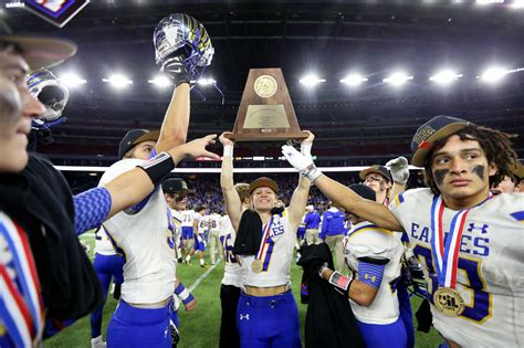 Mba Football State Chionship by Brock Emerges As 3a Division I State Chions Houston