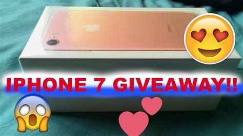 free iphone 7 giveaway 2017 international