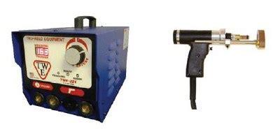 capacitor discharge resistance welding twe 321 capacitor discharge stud welder complete stud weld