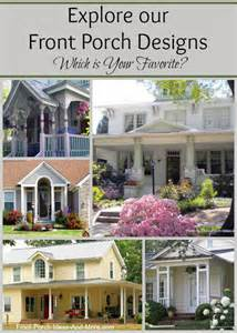 Front Porch Plans Free by Front Porch Designs Front Porch Ideas Front Porch Plans
