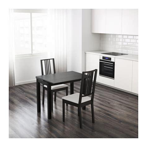 tavolo bjursta bjursta tavolo allungabile marrone nero ikea
