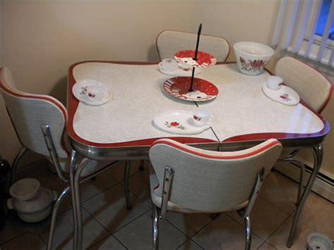Vintage Kitchen Dining Sets 23 Dinette Sets Vintage Kitchen Treasures Retro