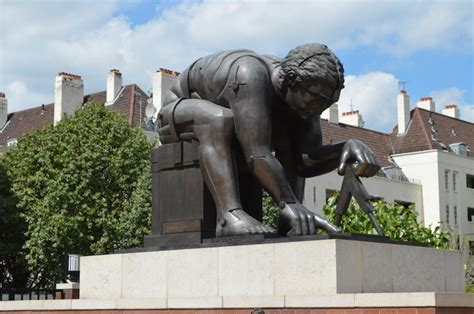 sculpture outside design museum london where to find eduardo paolozzi s sculptures in london