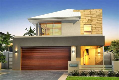 narrow home designs narrow lot houses perth 10m designs renowned