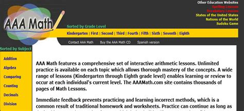 tutorial website for math aaa math worksheets worksheets releaseboard free