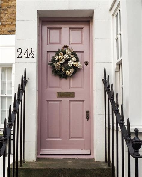 Pink Front Door Paint 1921 Best Home Exterior Images On House Beautiful Beautiful Homes And A House