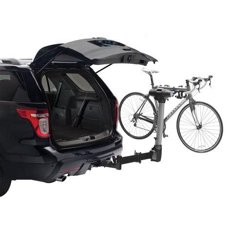 5 bike hitch rack swing away thule 9027 apex swing away 4 bike hitch rack ca