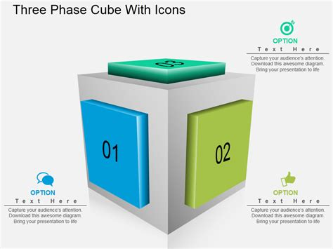 Learn To Create Cube Design In Powerpoint In Just A Minute The Slideteam Blog Powerpoint Cube Template
