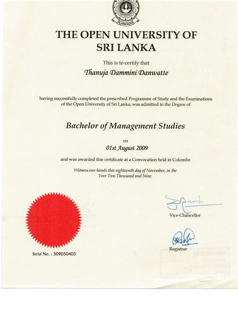 Open Mba Courses In Sri Lanka by Thanuja Danwatte Bayt