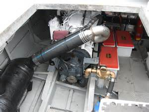 Exhaust System Yacht Building A Custom Lift Muffler Exhaust System Seaboard