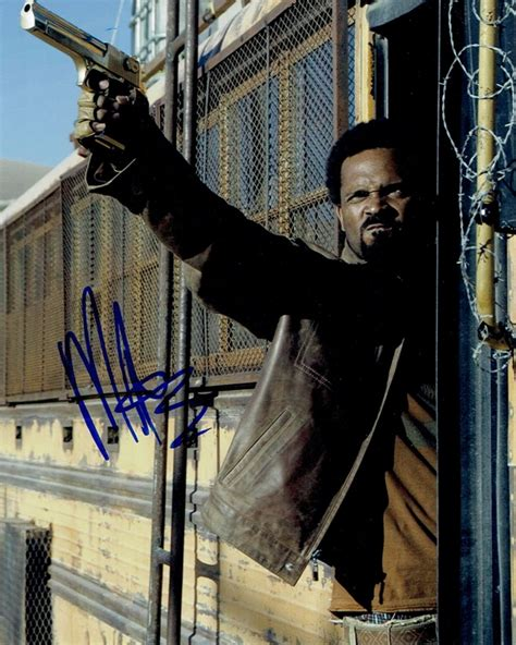 mike epps resident evil autograph signed 8x10 photo