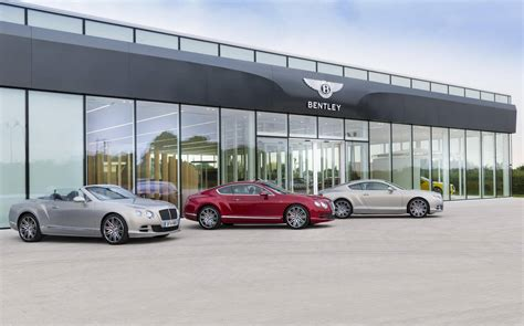 bentley showroom bentley launches new global corporate identity with