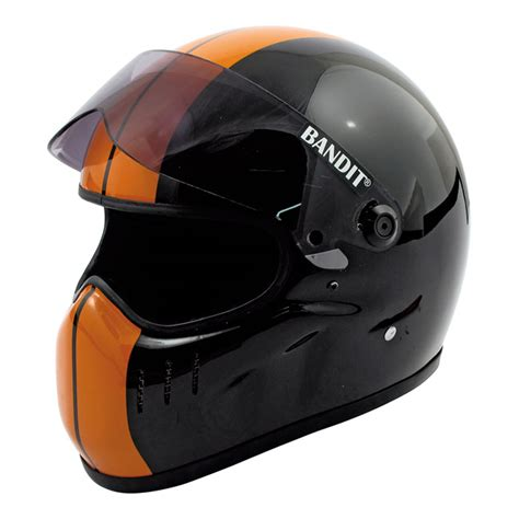 Dziner D8188 Black Orange Original casco de moto bandit xxr black orange