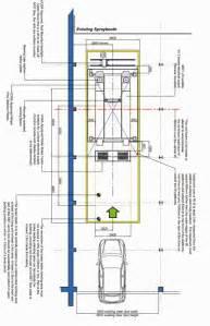 Garage Sizes Standard mot bay dimensions v tech uk garage equipment