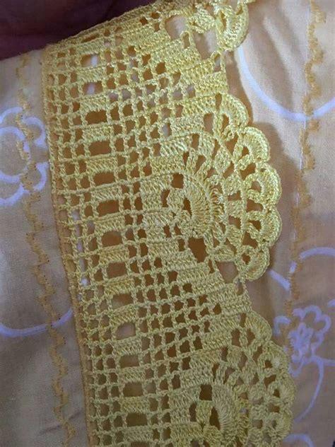 cenefas ganchillo para toallas pin de nalan en crochet cenefas toallas y
