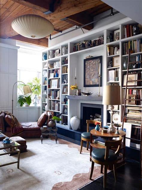 Room With Books Salas De Estar Para Amantes De Livros Gene De Tra 231 A