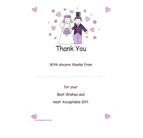 bride and groom wedding thank you for your gift pack 20
