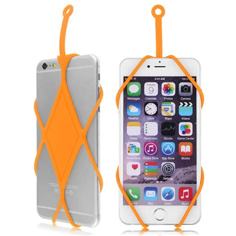 Erokawa Cell Phone Straps by Silicone Lanyard Cover Skin Holder Necklace For