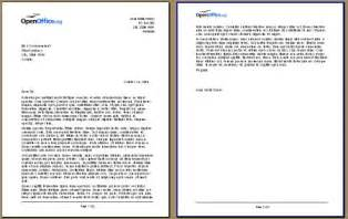 Business Letter Multiple Pages create a letterhead using openoffice org writer