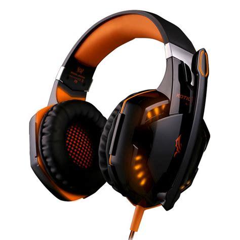 Headset Kotion Each G2000 Kotion Each G2000 Headband Headset Headphone Orange
