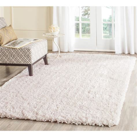 9 area rugs safavieh popcorn shag ivory 6 ft x 9 ft area rug sg267a