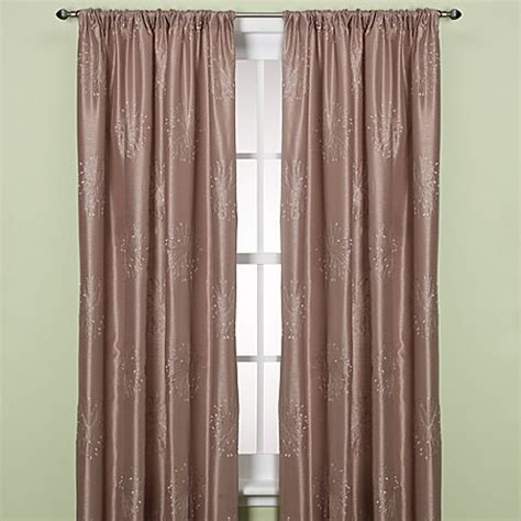 what is a back tab curtain panel claire rod pocket back tab window curtain panel bed bath