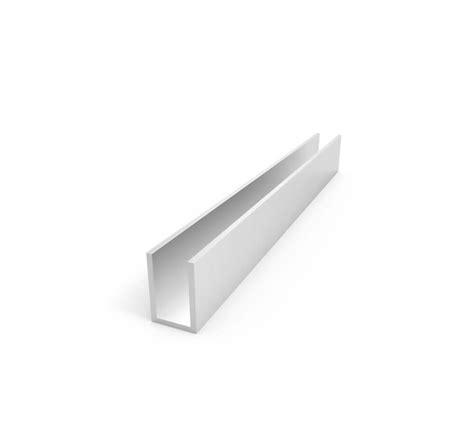 1 x 2 aluminum channel aluminum channel 1 1 2 quot leg x 1 quot od x 3 4 quot id x 1 8