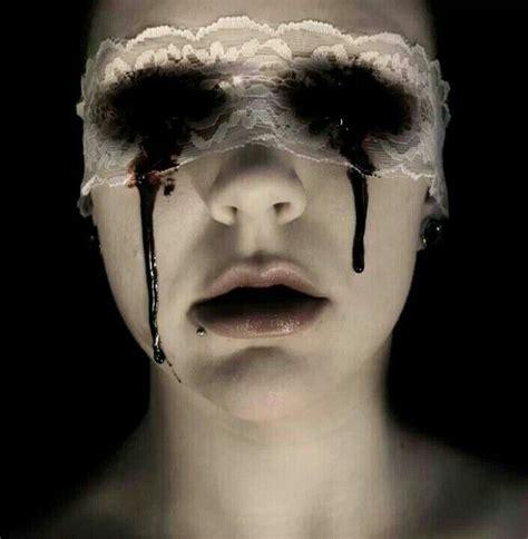 the risks of eyeball tattooing 171 redinc tattoo body black bleeding eyes what nightmares are made of enter