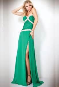 long green prom dress 2011 by jovani prom night styles