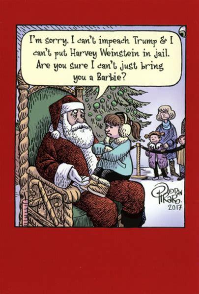 impeach trump box   humorous funny  piraro christmas cards  ebay