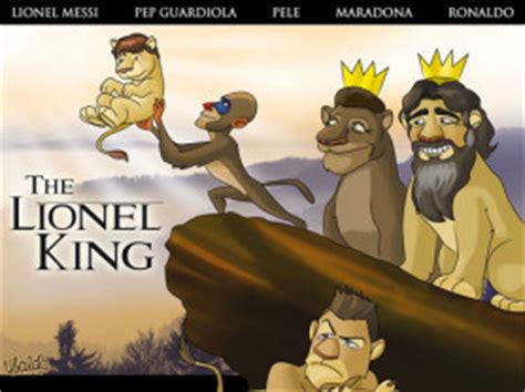 ronaldo lion king funny pictures