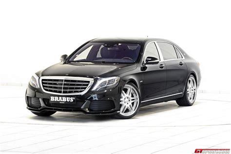 maybach mercedes benz official 900hp mercedes maybach s600 by brabus gtspirit