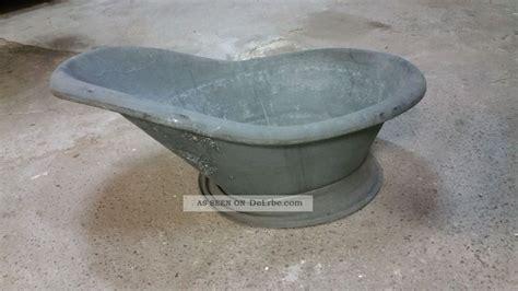 antike badewanne antike zinkwanne sitzbadewanne badewanne pflanzk 252 bel
