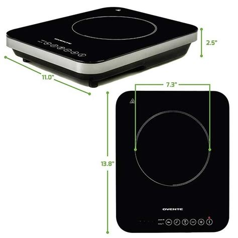 induction cooktop with temperature induction cooktop bg61b ovente us