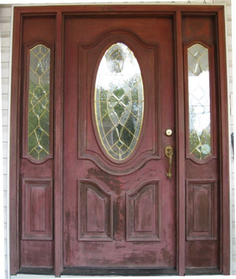 Exterior Door Refinishing Door Refinishing