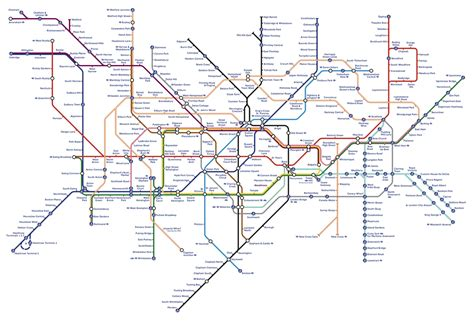 printable version of london tube map london capital of england and the uk