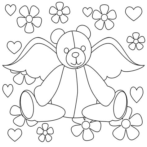 teddy bear coloring pages for adults teddy bears colouring pages az coloring pages
