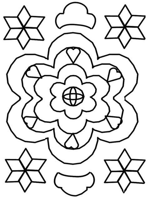 rangoli coloring pages printable free coloring pages of rangoli patterns