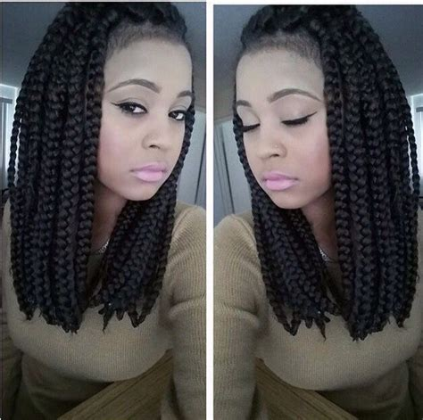 thick braided african wigs 25 best ideas about thick box braids on pinterest black