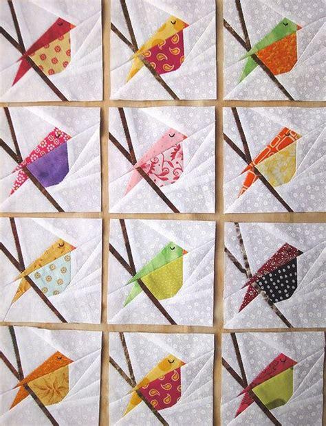 Patchwork Quilt Templates - best 25 bird quilt ideas on bird quilt blocks